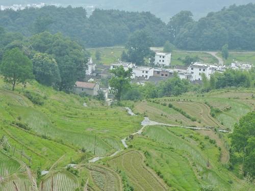 Jiangxi-Wuyuan-Montagnes et lac (45)