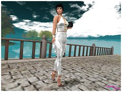Hilly Haalan - Fhara Outfit White - New 1