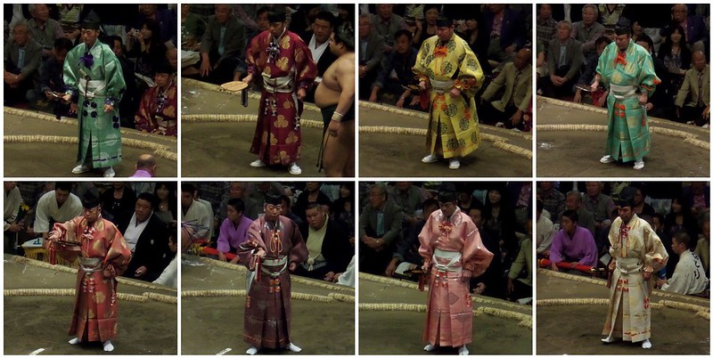 Sumo Referee Montage