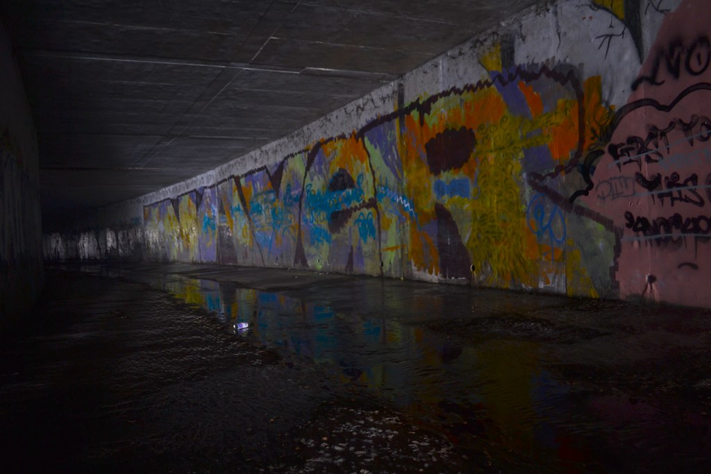 NAVER, AMC, Graffiti, East Bay, Roller, Tunnel