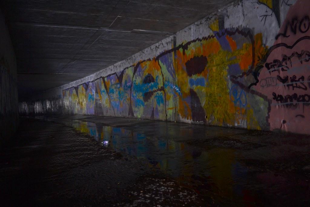NAVER, AMC, Graffiti, East Bay, Roller, Tunnel