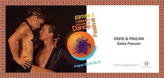 David and Paulina - 2014 Lebanon International Dance Festival