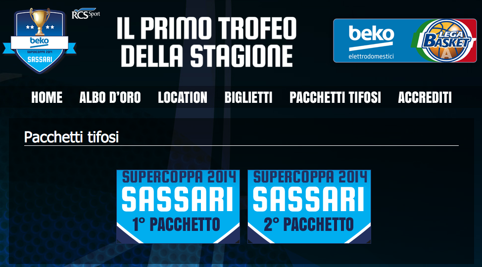 SUPERCOPPA 2014