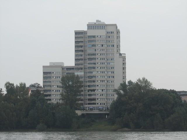 Prachtvolle Architektur am Rhein