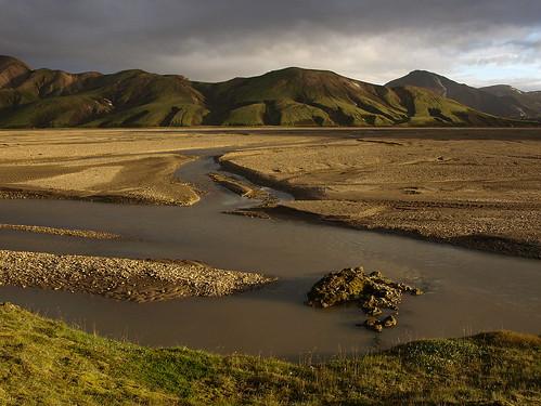 mountain nature river landscape iceland highlands stream dusk august wilderness rhyolite 2014 landmannalaugar fjallabak platinumheartaward jökulgilskvísl friðlandaðfjallabaki