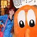 Small photo of Dragon Con 2014 Star Trek and Q*Bert Cosplay