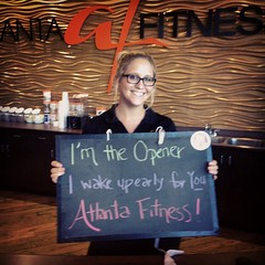 I'm the Opener - I wake up early for You - #Atlantafitness #haikuDBF @outofhandatl