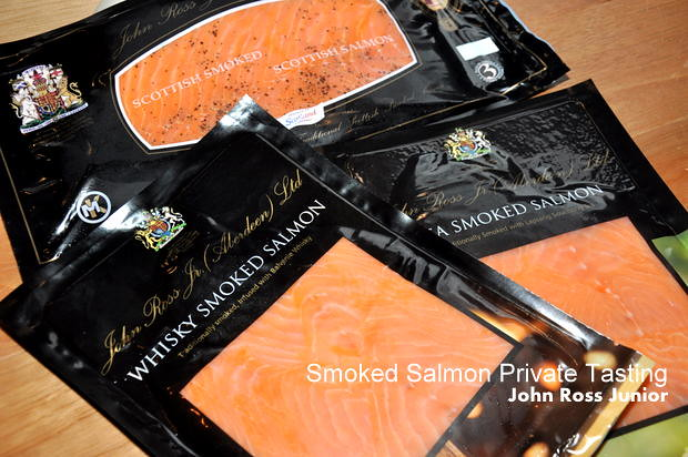 John Ross Smoked Salmon Private Tasting at The Curious Goat