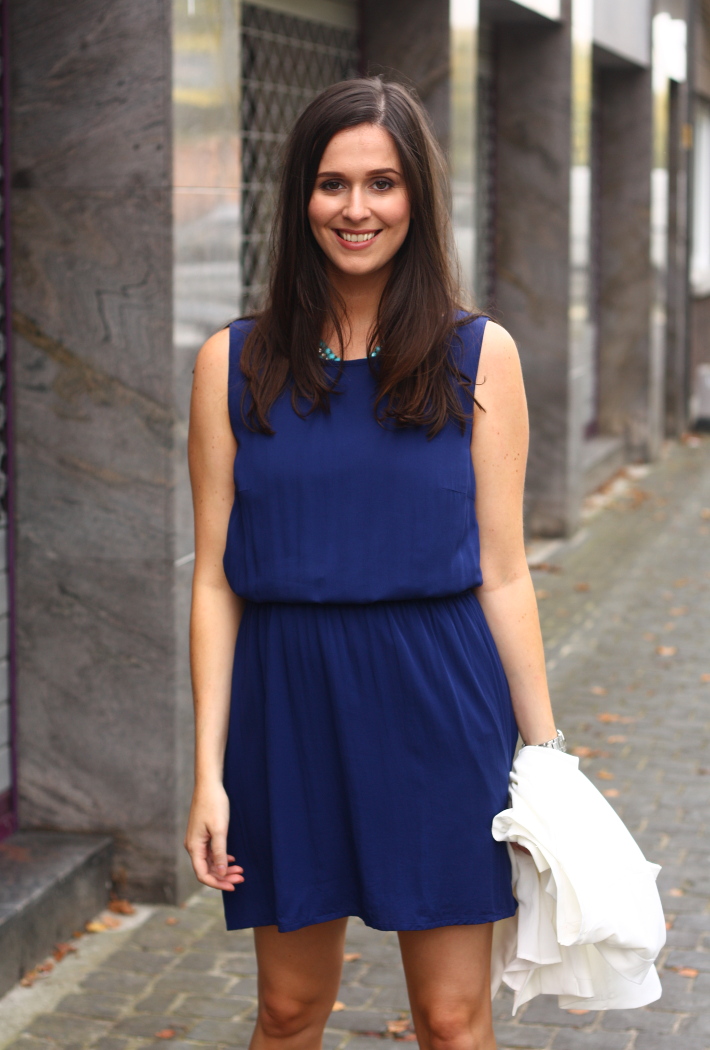 blue tom tailor dress
