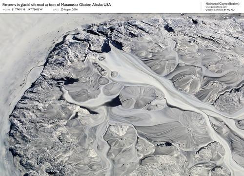 Glacial mud, Matanuska Glacier