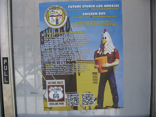 Chicken Boy Statue Los Angeles CA Photo by Keith Valcourt