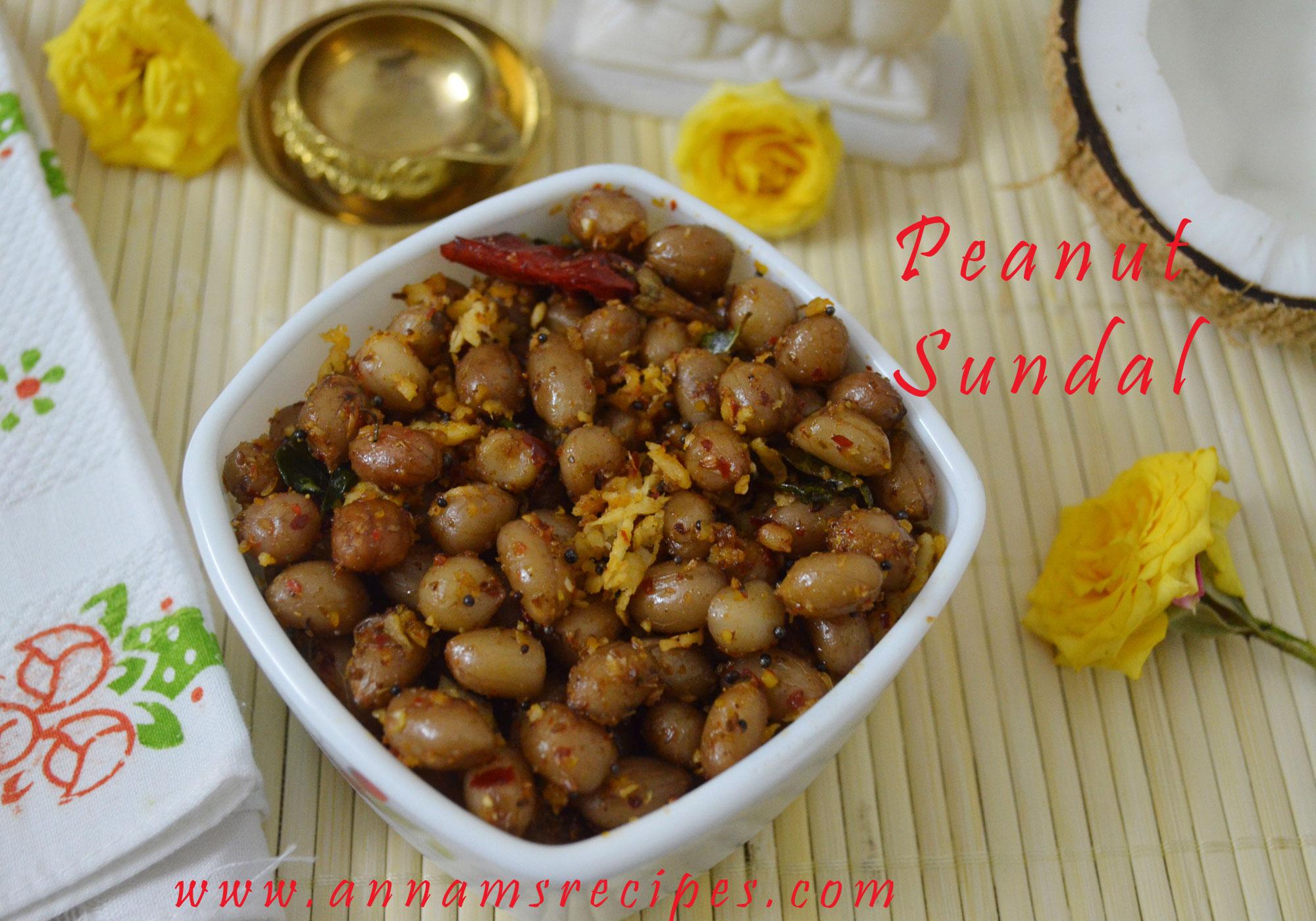 Peanut  Masala Sundal