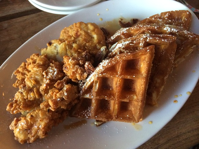 Chicken and waffles - ChurchKey