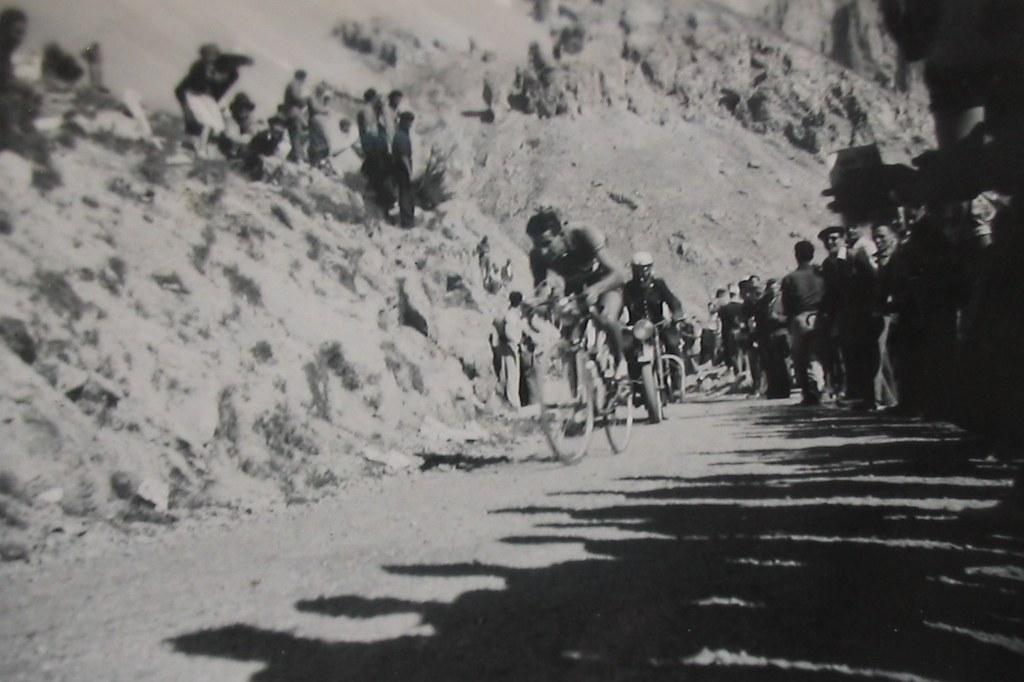 Tour de France 1951, étape du Col Izoard à Briançon (Desmaretz Andre)