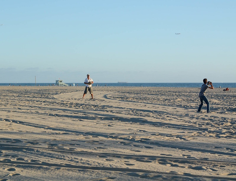 Baseball on the Beach