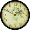 Roger Lascelles Wine Wall/Table Clock, 8.1-Inch