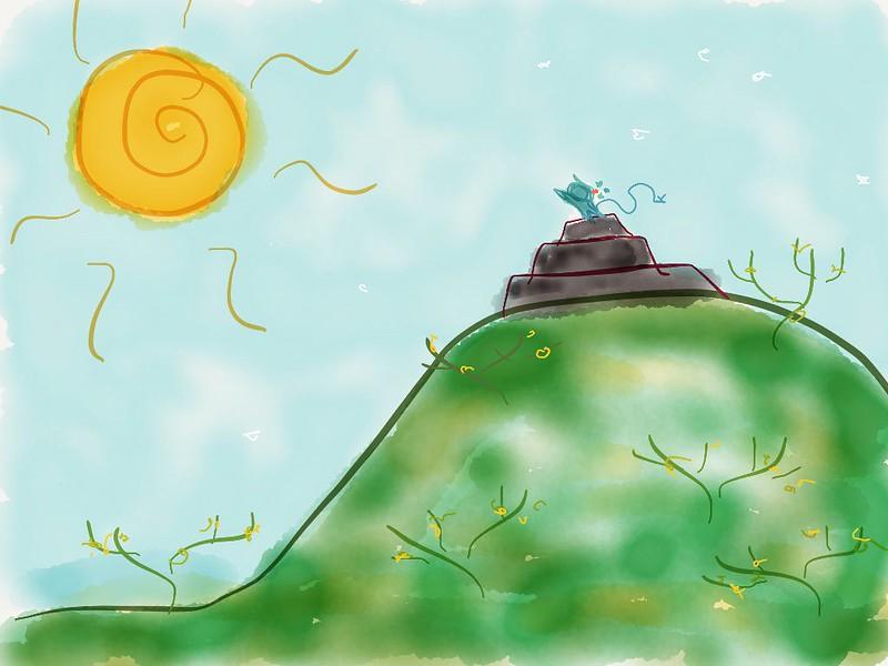 Kumonito en el Cerro de los Huizaches