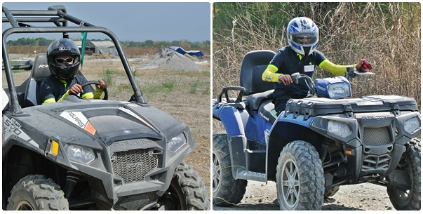 UTV and ATV ride at Sandbox Alviera