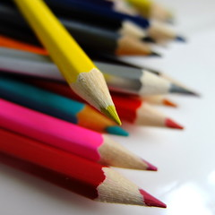 writing(0.0), pencil(1.0), office supplies(1.0), close-up(1.0),