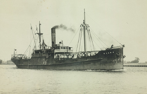 Noora (Steamship) (formerly Ornais) in Melbourne