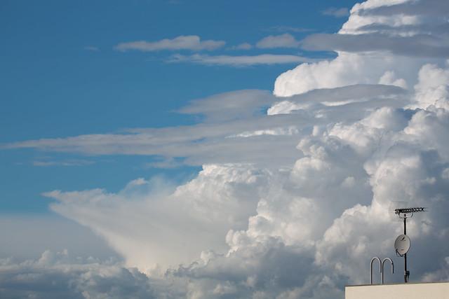 空と入道雲