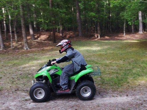 Tim's 4 wheeler ride
