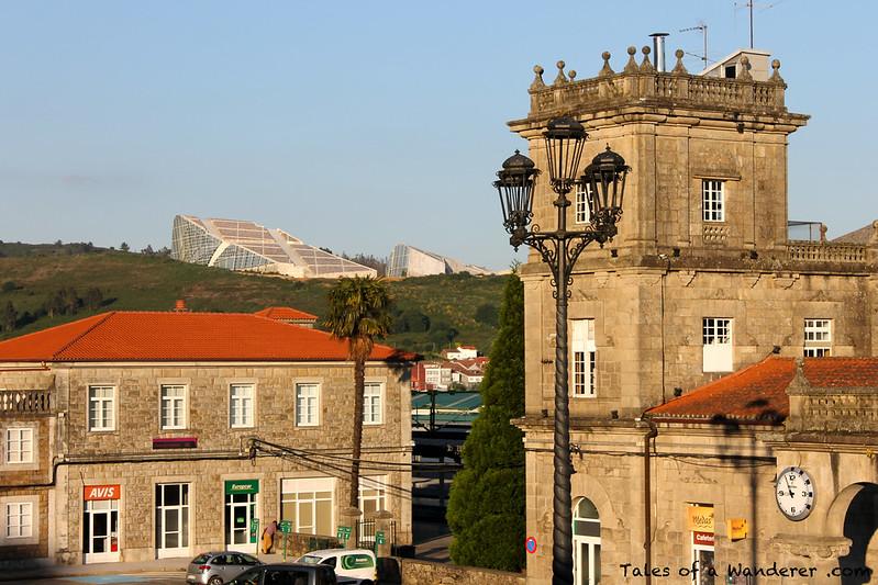 SANTIAGO DE COMPOSTELA - Cidade da Cultura de Galicia / Estación de Santiago de Compostela