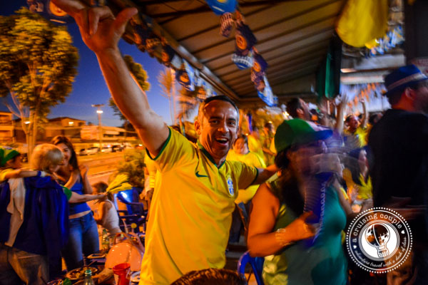 Brazilian Cheering at the World Cup