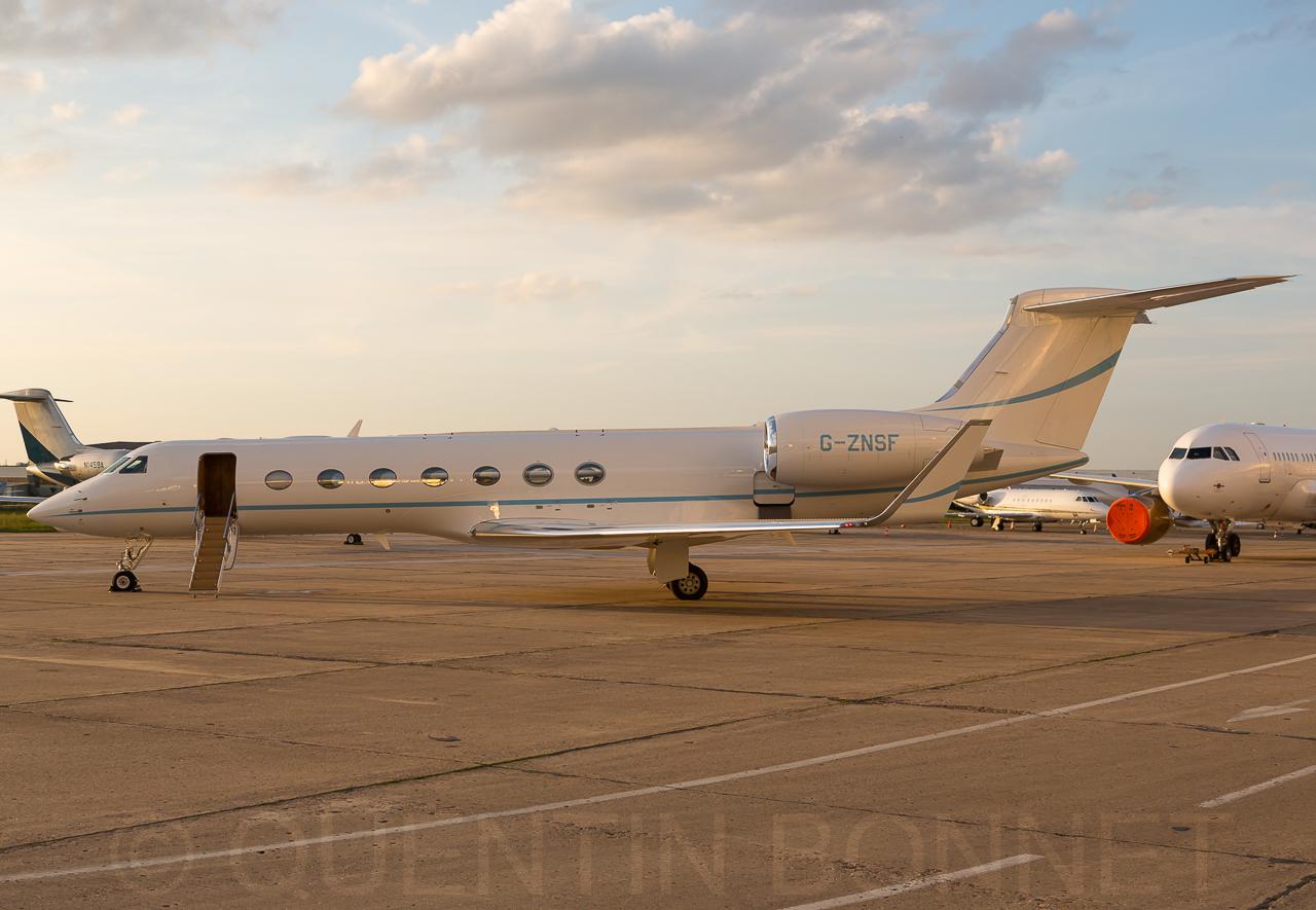 TAG Aviation Gulfstream G550 G-ZNSF