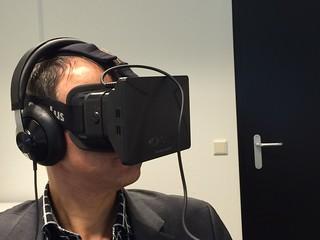 Wilfred en de Oculus Rift