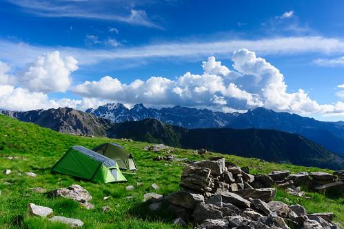 Bivouac dans les Alpes du Sud (PACA)