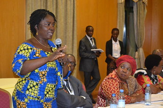 Ghana Minister of Education at the High level Dialogue meeting / Photo by Maureen Agena