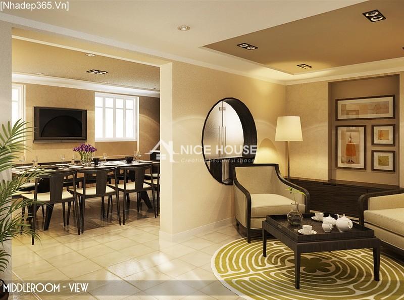 Thiết kế nội thất căn hộ Hàng Trống - Hà Nội_02