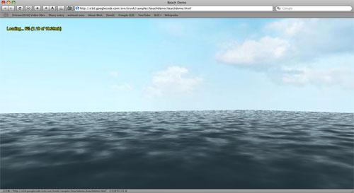 海面和天空的贴图