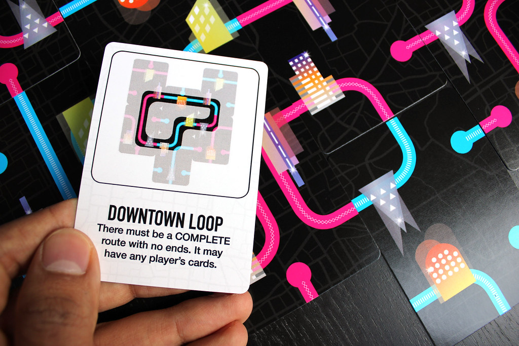 Sample Objective card in LIGHT RAIL