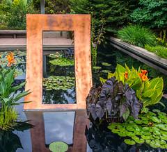 Zen Doorway (2002, sheet copper)