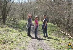 Family time in Clouts Wood