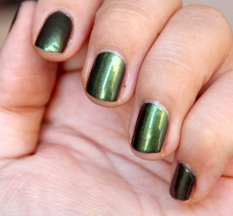 OPI Green on the runway1