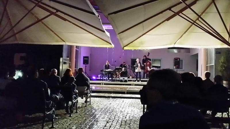 Open air jazz concert in Fuschl