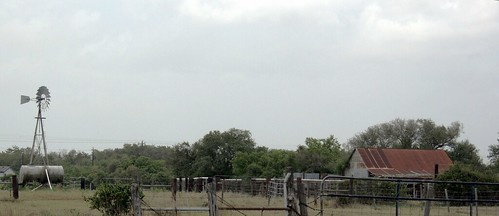 ranch trees usa windmill barn rural fence texas farm watertank tinroof oaktrees fencepost coastalplain rustycrusty calhouncounty seadrifttx scruboaks crossfenced