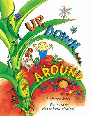 Up, Down, and Around by Katherine Ayres book cover.