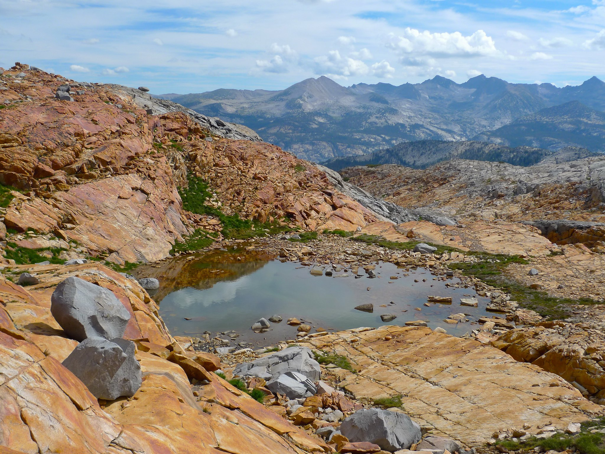 Tarn below Red Peak Pass