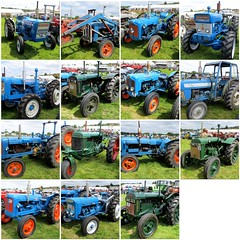 FORD TRACTORS - WEST DORSET VINTAGE RALLY 2014