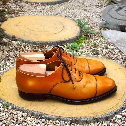 ある営業マンの靴 Crockett&Jones
