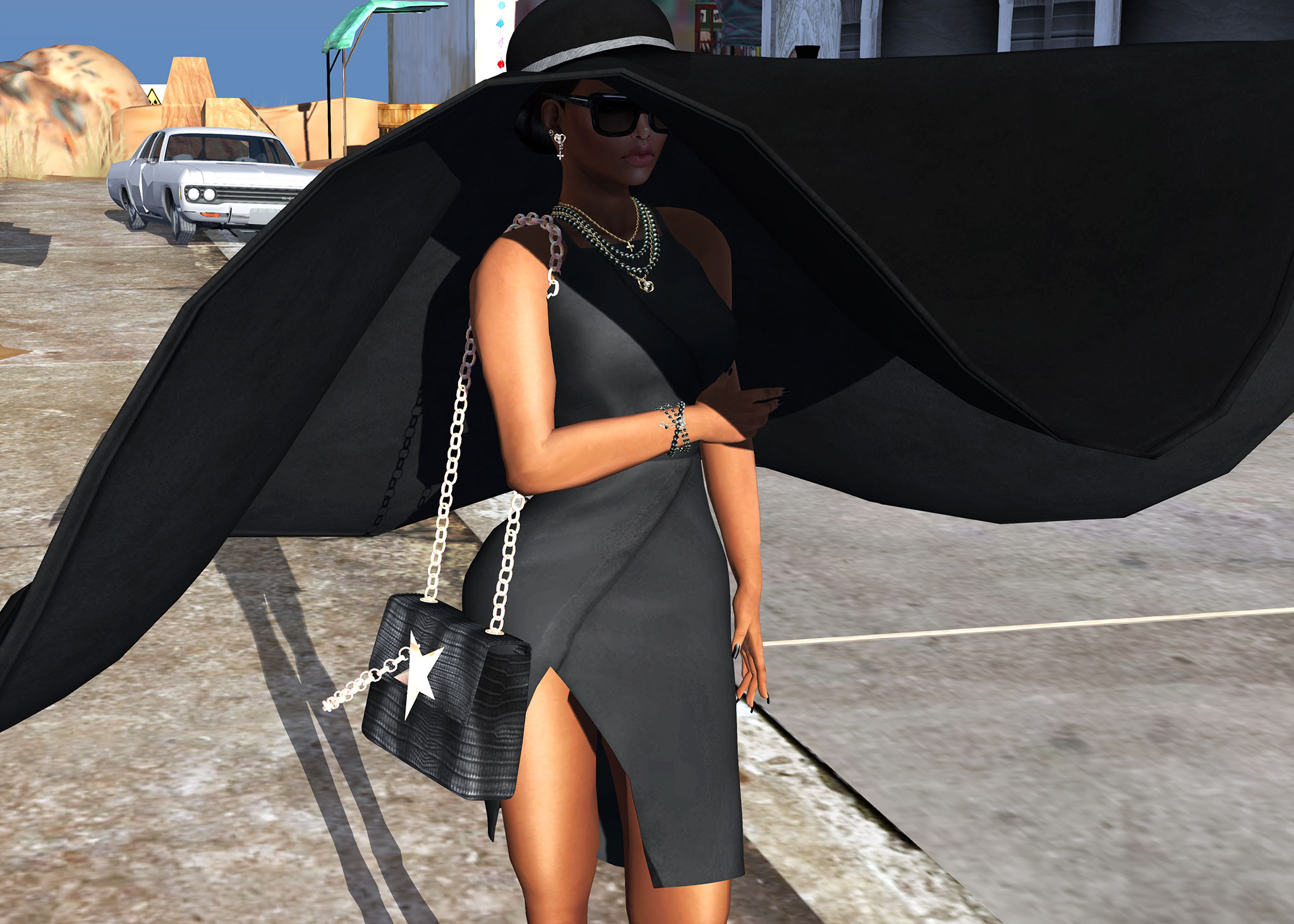 Black Fashion Fair - Look 4