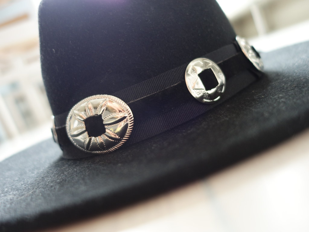 Concho hatband