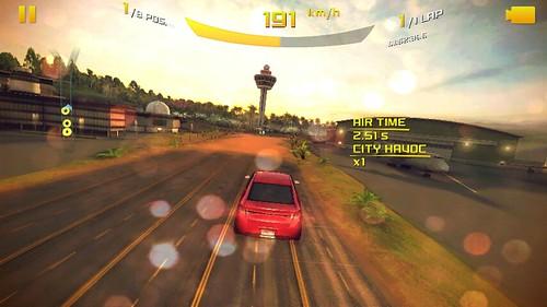 เกม Asphalt 8: Airborne บน Asus Zenfone 4 (A450CG)