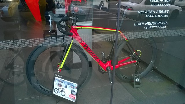 McLaren S-Works Bicycle Auckland
