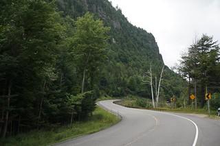 Road to Lake Placid