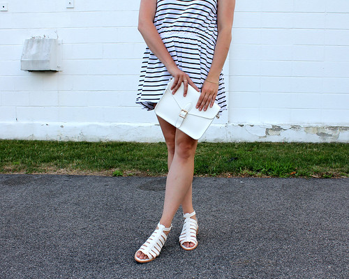 Striped Dress Details